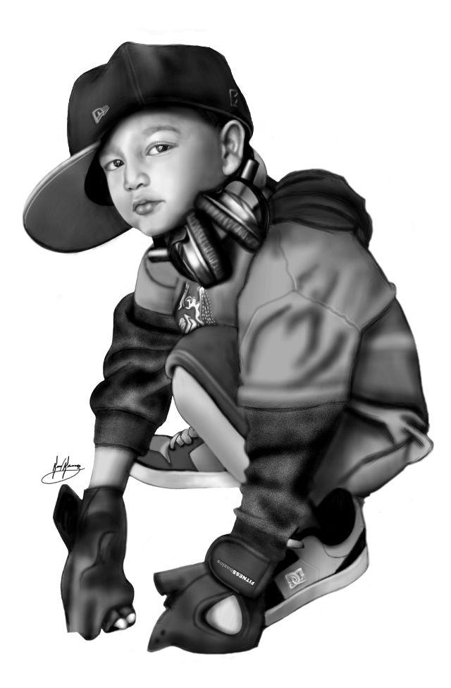 art of digital drawing