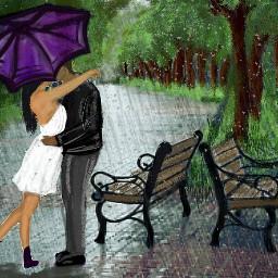 purplerainstickerremix remixed dcrainyday rain love freetoedit