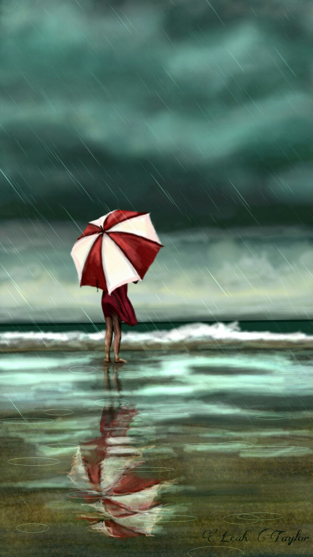 Dcrainyday Alone In The Face Of A Rainstorm See The