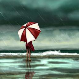 dcrainyday drawing art rain summer