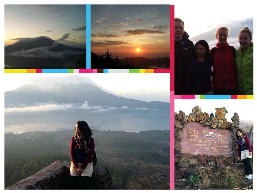 Mount Batur #trekking #travel  #bali #mountain #topofmountain #holiday #sunrise #travelling #love #instapics #selfie