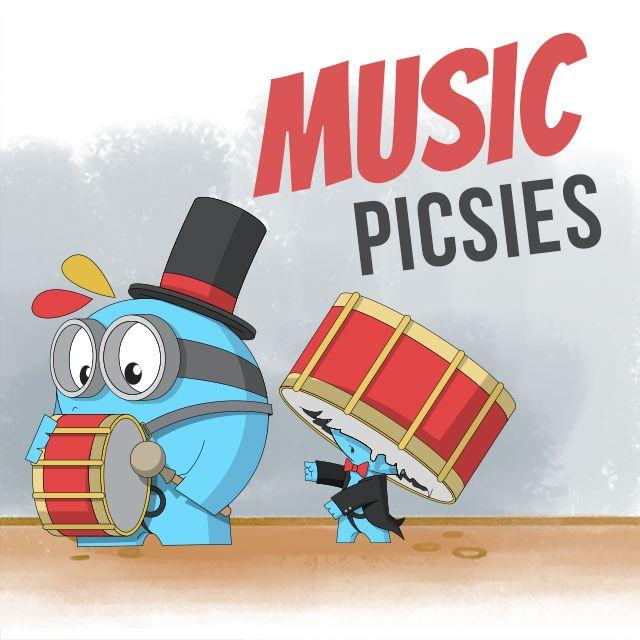 music picsies clipart