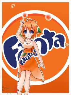 anime kawaii chibi soda
