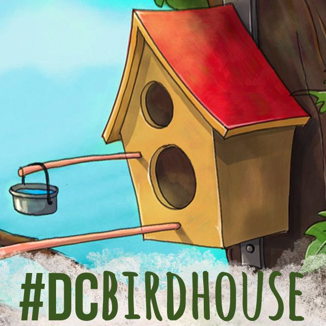 Birdhouse drawing challenge