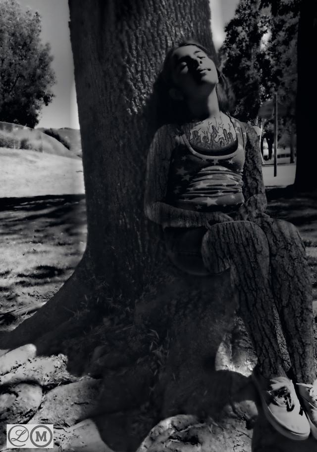 #Tree  #black&white  #fantasy  #illusion  #art  #photography  #kamila cornejo