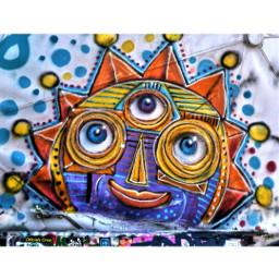 colorful teufelsberg art drawing graffiti
