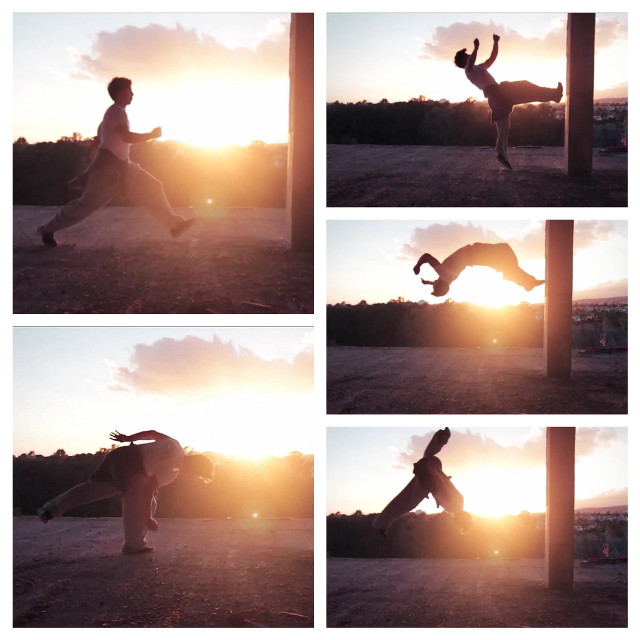 #gdactioncollage #Art #parkour #collage  #photography #people #picture #Others #man #nature