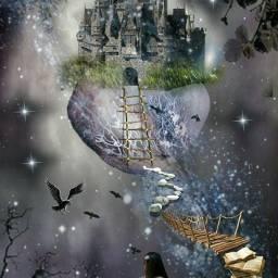 emotions cute freetoedit creative fantasy artistry world_shotz dream