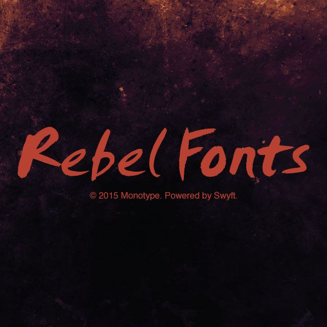 rebel fonts
