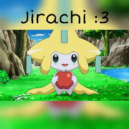 cute nature pokemon jirachi kawaii