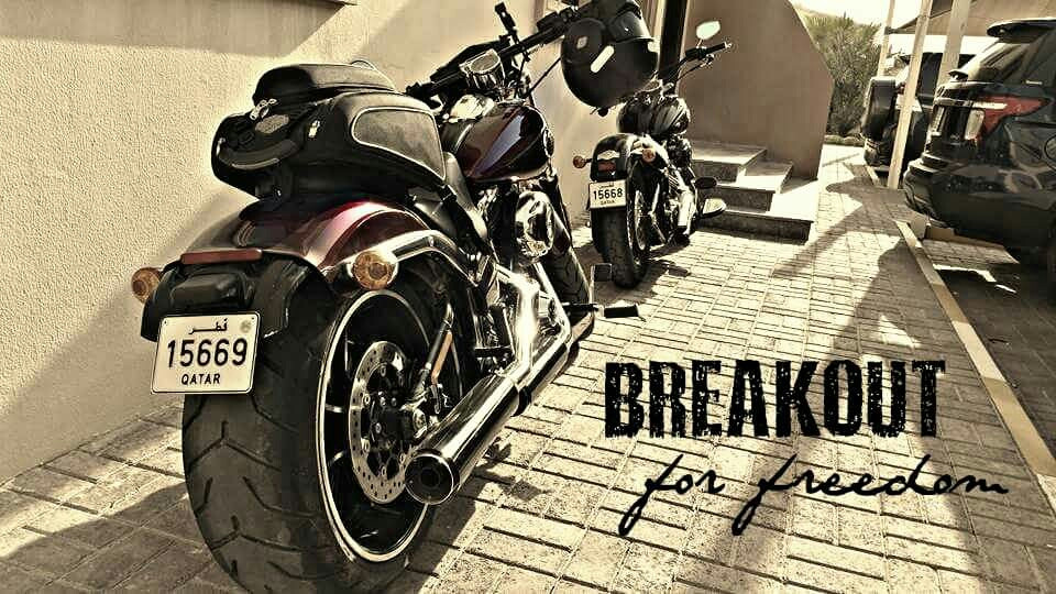 #Breakout for freedom..