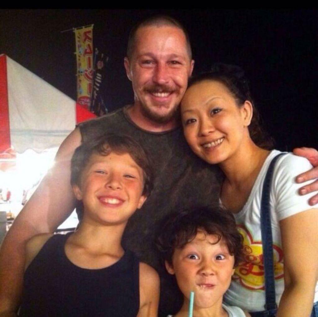 Kaori Jacoby's family photo